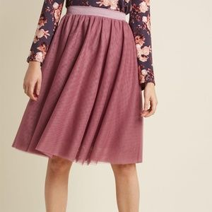 Modcloth Tulle of the Trade Skirt - EUC - XL